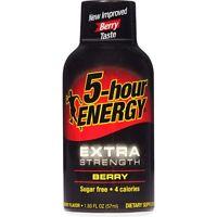 5-Hour Energy Shot, Extra Strength, Berry, 1.93 oz.  24ct