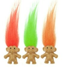 12 X  LUCKY TROLL DOLL PENCIL TOPPERS PARTY BAG FILLER Trolls