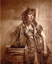 Poor, Tired & Hopeless Worker Girl HENDRICKSON PHOTO Original Artist Studio D795