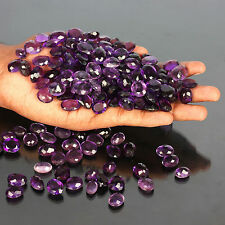 100.00 Ct Beautiful Translucent Brazilian Amethyst Loose Gemstone Wholesale Lot