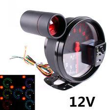 """5""""Stepper Motor Car RPM 11000K Tachometer Gauge 7Color Backlight LED Shift Light"""