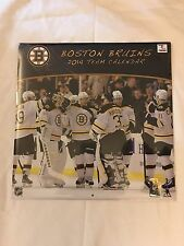 "Boston Bruins 2014 Team Calendar large 12"" by 12"""