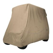 Fairway Golf Buggy Cart Cover Quick-Fit Short Roof Khaki (High Quality)