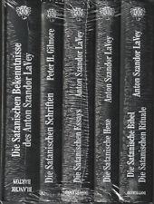 DIE SATANISCHE BIBLIOTHEK - Anton Szandor LaVey - 5 x BUCH-SET - NEU