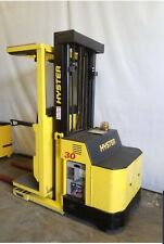3 Hyster R30Xm2 Order Picker Forklifts - All Below 5800 Hours - All Run Great!