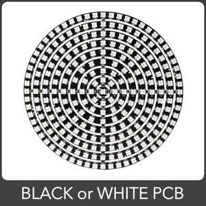 WS2812B RGB LED Ring Addressable LED Digital 5V 5050 Circle. 37 93 241 Pixels