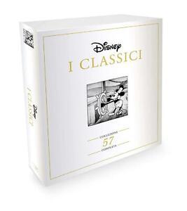 DVD CLASSICI WALT DISNEY COFANETTO COLLEZIONE 57 FILM NUOVO SIGILLATO