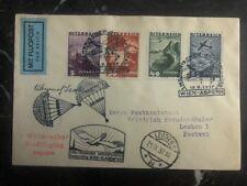 1937 Aspern Vienna Austria Military Airmail Cover To Leoben