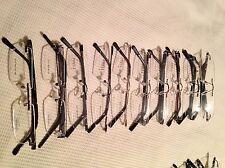 10 Rimless Frames Glasses Job Lot Men Women Unisex Quality Optical Optician £150