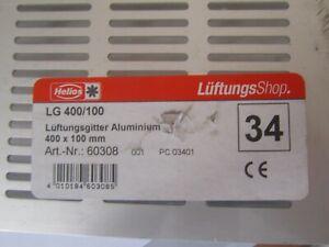 1 x Helios 60308 LG 400/100 Lüftungsgitter * NEU + OVP * Restposten * Y-4-4