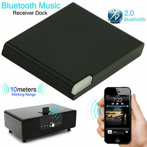Audio Adapter Bluetooth 4.1 Music Receiver IPod IPhone 30-Pin Dock Speaker Home