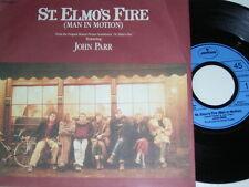 "7"" - John Parr St. Elmo´s Fire & Treat me like an Animal - 1984 # 5233"