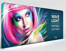 20 Ft As Seen Wide Backlit Tension Fabric Trade Show Exhibit Booth Display