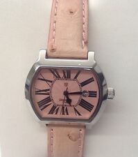 Ladies Lancaster Italy watch. Stainless steel quartz wrist watch.