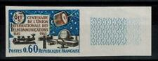 "(b29) timbre France n° 1451a neuf** année 1965 ""non dentelé"""