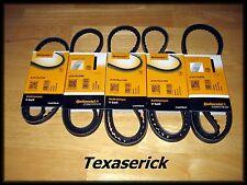 NOS Drive Belt Set Continental Contitech [fits] Mercedes-Benz 380SL 380SE 380SEC