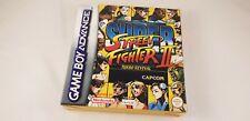 * Nintendo GameBoy Advance * Super Street Fighter II Turbo Revival * PAL GBA *