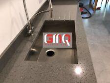 Grey Mirror Fleck Quartz Kitchen Worktops | All colours Available!