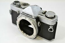 *As is* Olympus M-1 SLR 35mm Film Camera Silver Body Only From JAPAN