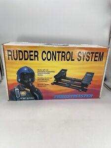 Vintage 1993 ThrustMaster Rudder Control System IBM & Mac RARE in Box