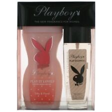 Playboy Play It Lovely Perfume by Coty, 2 Piece Gift Set for Women NEW