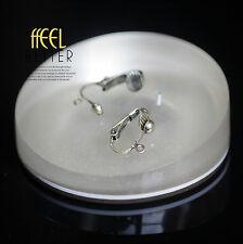 Clips Pour DIY Boucles d`Oreilles a Clip Doré Antique Pince LOT de 3 Paires