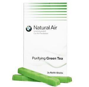 BMW Air Freshener Purifying Green Tea Refill Kit Genuine BMW 83122285674
