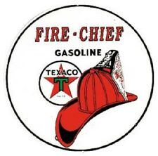 "Texaco Fire Chief Gas 12"" Vintage Style Metal Signs Man Cave Garage Decor 69 SS"