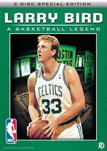 "Basketball Documentary DVD NBA "" Larry Bird Legend "" (2 DISC) OVER 7 HOURS"