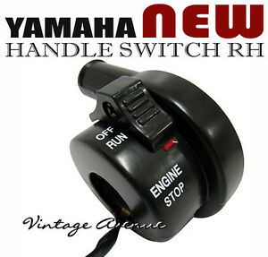 YAMAHA BIG WHEEL BW200 N/S 1985-1986 HANDLE SWITCH RH [X]
