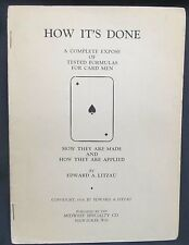 Magic: How it's Done by Litzau Edward