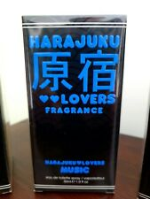 MUSIC - HARAJUKU LOVERS FRAGRANCE - EU DE TOILETTE SPRAY - 30ML - NEW