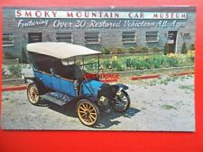 POSTCARD SMOKY MOUNTAIN CAR MUSEUM - 1912 EMF FLANDERS 20