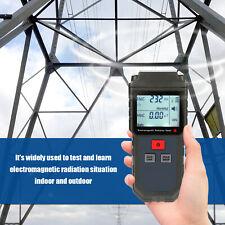 EMF Meter Electromagnetic Field Radiation Detector with Sound-Light Alarm