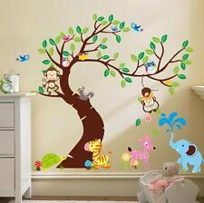 Vinilos decorativos de pared pegatinas animales del bosque vivero sala de juegos