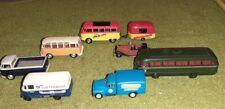 Schuco et Brekina, Grell, ho. Lot de 7 véhicules.