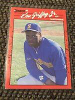 1990 Donruss Baseball #365 Ken Griffey Jr. Seattle Mariners Card EXCELLENT!!