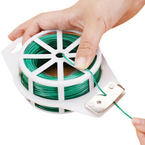 100M Multifunction Nylon Garden Cable Ties Power Wire Loop Tape Flower Cable Tie