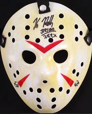 "Kane Hodder Signed Jason ""Friday the 13th"" Hockey Mask Inscribed ""Jason 7, 8, 9,"