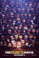 The Peanuts Movie (2015) Movie Poster (24x36) - Charlie Brown, Snoopy, Linus v15