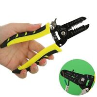 Automatic Cable Wire Crimper Crimping Tool Stripper Adjustable Plier Cutter FAST