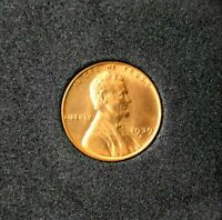 1939-S B/U LINCOLN WHEAT PENNY~1¢~CENT~RED UNCIRCULATED BEAUTY~!