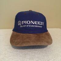 Pioneer The Art of Entertainment Vintage 90's Wool Adult Mens Baseball Hat Cap