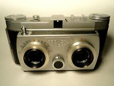 SERVICED Belca Belplasca Stereo Camera TOP Carl Zeiss Tessar 3,5/37,5 1Q