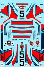 Decalcomanie Decals Martini Porsche 911 SC Rally Dakar Waldegaard Thorszelius