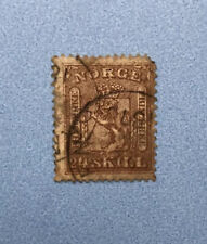 Norway Norge 24 Skill Stamp