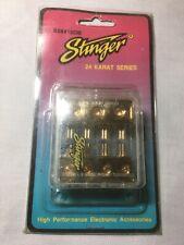 Stinger fuse block,old School Retro Build 3-4 Gauge 4-10 Out For glass fuses