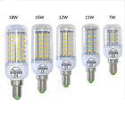 Energieeffiziente E14 7W/11W/12W/15W/18W 5730SMD LED Lampe Glühbirne Birne Lampe