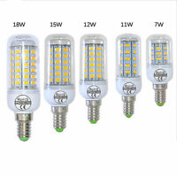 E14 5730 SMD LED Mais Lampe Energieeinsparung 360 Grad Weiss 200-240V GY