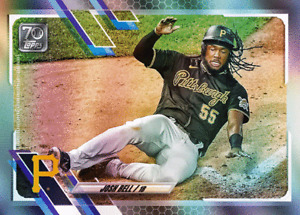 2021 Topps MLB Digital NFT Series 1 Josh Bell (Rainbow) #187/402